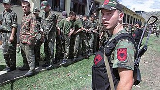 2001 insurgency in the Republic of Macedonia - NLA militants in Northern Macedonia
