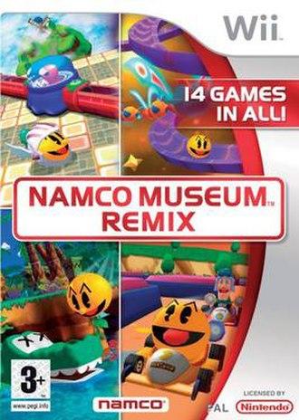 Namco Museum Remix - European boxart