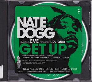 Get Up (Nate Dogg song) - Image: Nate Dogg Get Up