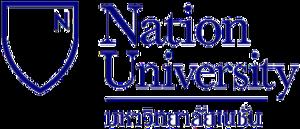 Nation University (Thailand) - Image: Nation University Logo
