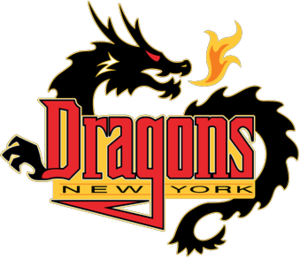 New York Dragons - Image: New York Dragons logo (2001 2008)