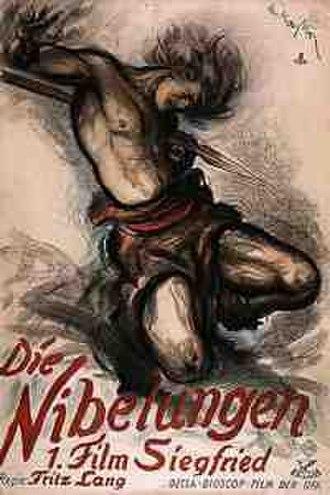 Die Nibelungen - Original 1924 Theatrical Film Poster