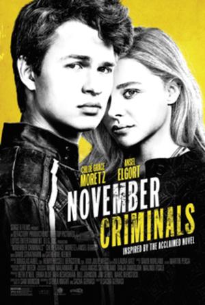 November Criminals (film) - Theatrical release poster
