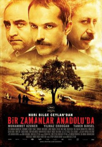 Once Upon a Time in Anatolia - Original theatrical poster