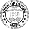 Official seal of Oxford, Massachusetts