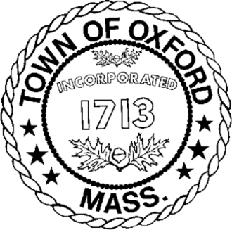 Oxford, Massachusetts - Image: Oxford MA seal