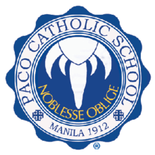 Paco catholic school, official school logo.png