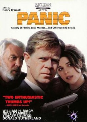 Panic (2000 film) - Theatrical Release Poster