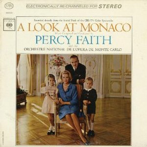 A Look at Monaco (album) - Image: Percy Faith Monaco