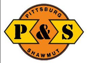 Pittsburg and Shawmut Railroad - Image: Pittsburg and Shawmut Railroad (logo)