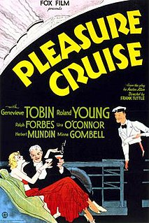 <i>Pleasure Cruise</i> 1933 film by Frank Tuttle