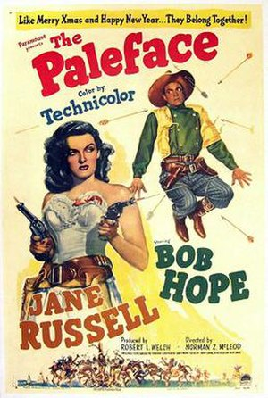 The Paleface (1948 film) - Theatrical poster
