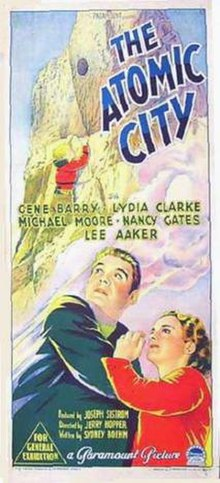 Poster of The Atomic City.jpg