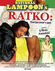 Poster of the movie Ratko- The Dictator's Son.jpg