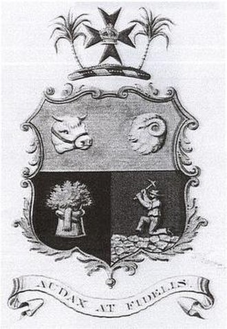 Coat of arms of Queensland - Image: QLD Coatof Arms 2