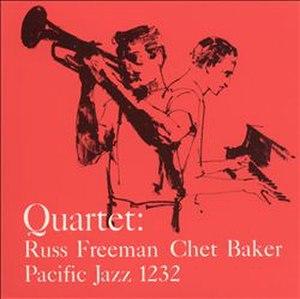 Quartet: Russ Freeman/Chet Baker - Image: Quartet Russ Freeman Chet Baker