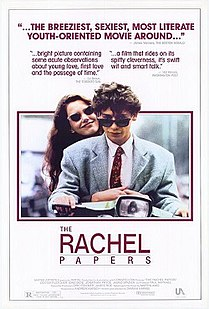 <i>The Rachel Papers</i> 1989 British film directed by Damian Harris