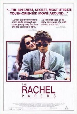 The Rachel Papers - Image: Rachel papers