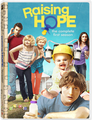 Raising Hope (season 1) - Image: Raising Hope Season One DVD Cover