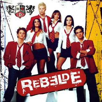Rebelde (song) - Image: Rebelde Single