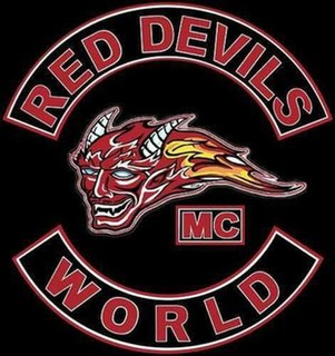 Red Devils Motorcycle Club Outlaw motorcycle group of the Hells Angels MC