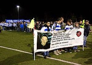 Death of Richard Nieuwenhuizen - Silent march of 9 December 2012 to commemorate the death of Nieuwenhuizen
