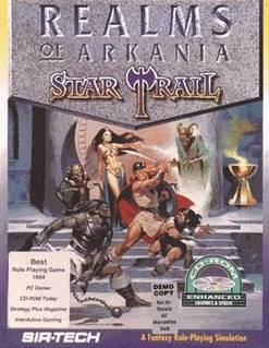 <i>Realms of Arkania: Star Trail</i> 1994 video game