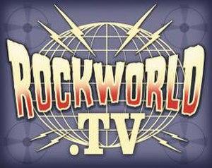 Rockworld TV - Image: Rockworld TV logo