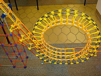 Center for Architecture and Design - Image: Roller coaster Knex