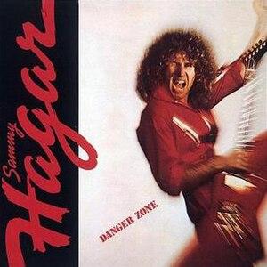 Danger Zone (Sammy Hagar album) - Image: Sammy Hagar Danger Zone