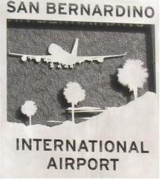 San Bernardino International Airport - Image: San Bernardino International Airport (emblem)