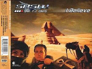 I Believe (Sash! song) - Image: Sash i believe singlecover