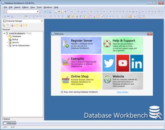 Database Workbench - Image: Screenshot of Database Workbench 5.04