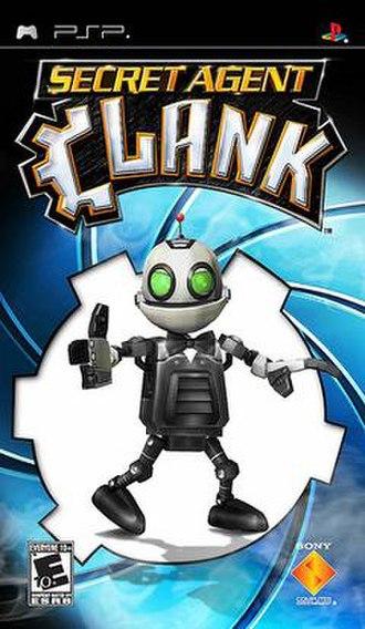 Secret Agent Clank - North American cover art