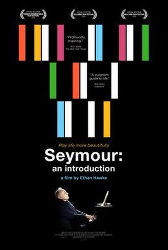 Seymour: An Introduction (film) - Film poster