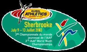 2003 World Youth Championships in Athletics - Image: Sherbrooke 2003logo
