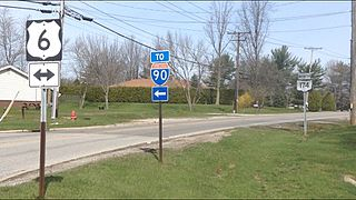 Numbered highways in Ohio Highway system of Ohio in the United States