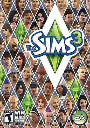 The Sims 3 - The 2009-2010 box art for The Sims 3 Base Game