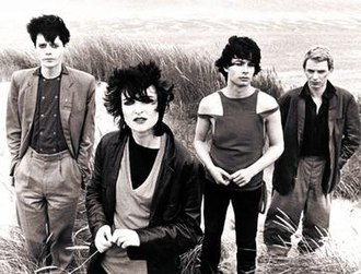 Siouxsie and the Banshees - Siouxsie and the Banshees in 1979, left to right: Kenny Morris, Siouxsie Sioux, John McKay and Steven Severin