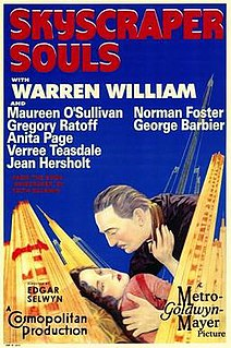 <i>Skyscraper Souls</i> 1932 film by Edgar Selwyn