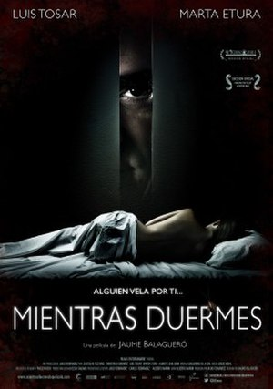 Sleep Tight (film) - Theatrical release poster
