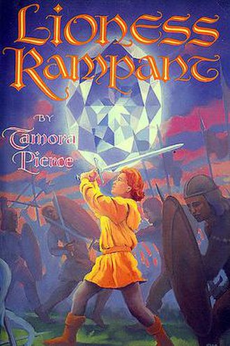 Lioness Rampant - Original Atheneum U.S. hardcover of the book featuring the title character.