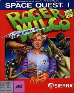 Space Quest I - Roger Wilco in The Sarien Encounter cover.jpg