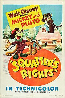 <i>Squatters Rights</i> 1946 Mickey Mouse cartoon