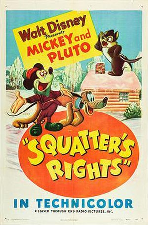 Squatter's Rights (film) - Theatrical release poster