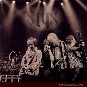 Styx World: Live 2001 - Image: Styx live 2001