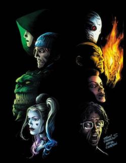 Cover Of Suicide Squad Vol 5 33 March 2018 Art By Eddy Barrows Eber Ferreira Adriano Lucas And Mason Fox