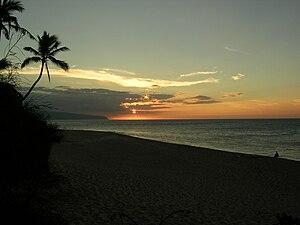 Sunset Beach (Oahu) - Winter Sunset at Sunset Beach
