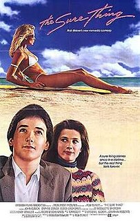 <i>The Sure Thing</i> 1985 American adventure comedy romance film by Rob Reiner