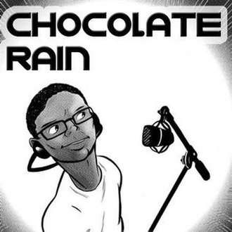 Chocolate Rain - Image: Tay Zonday Chocolate Rain cover art